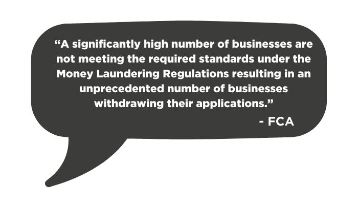 FCA quote on cryptoasset registration