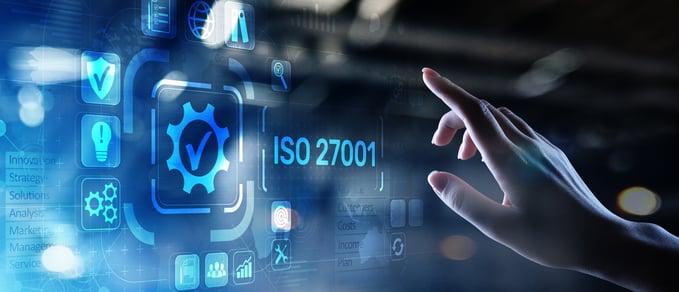 ISO 27001 stock photo