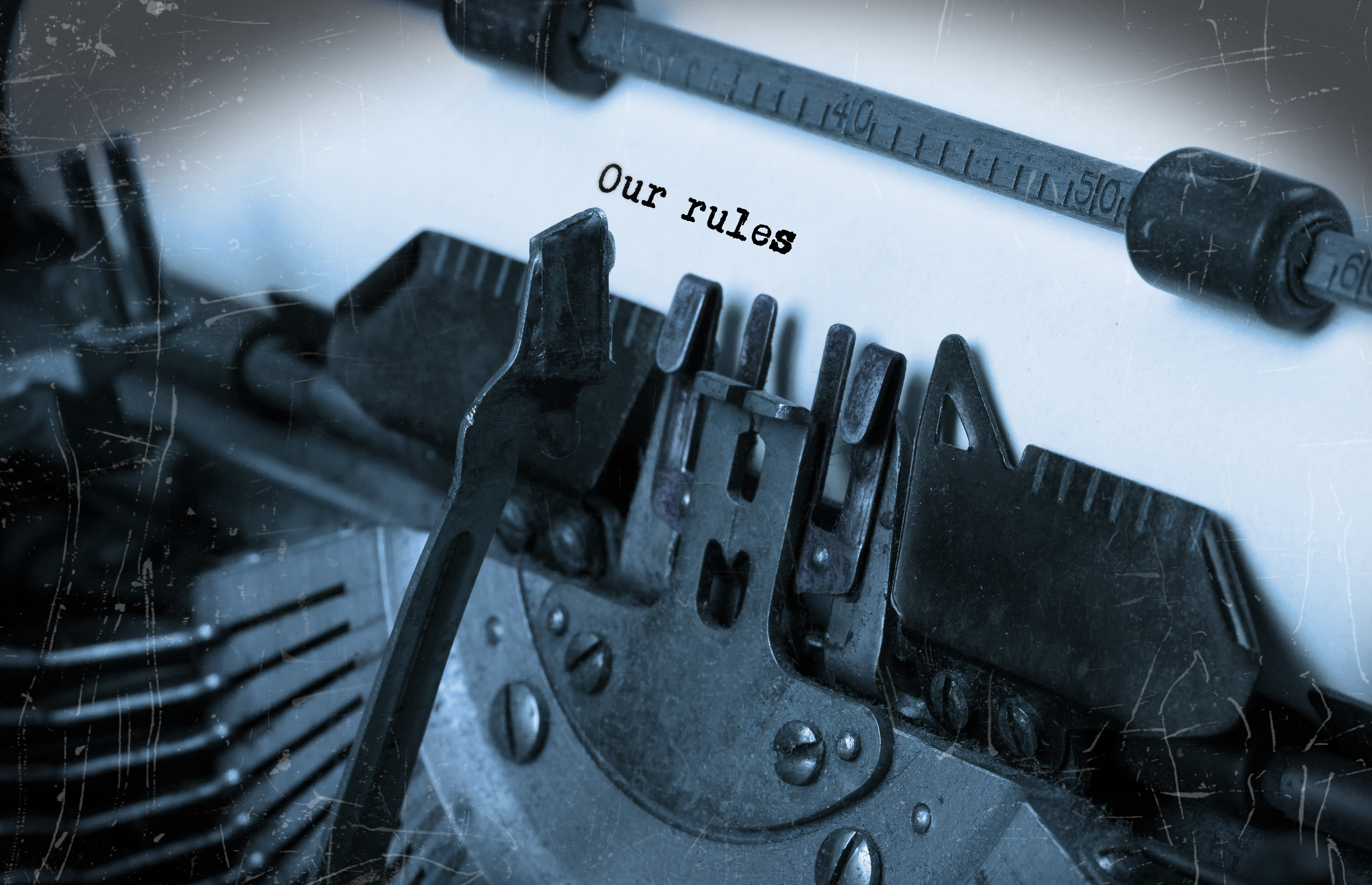 Our Rules Photo Istock