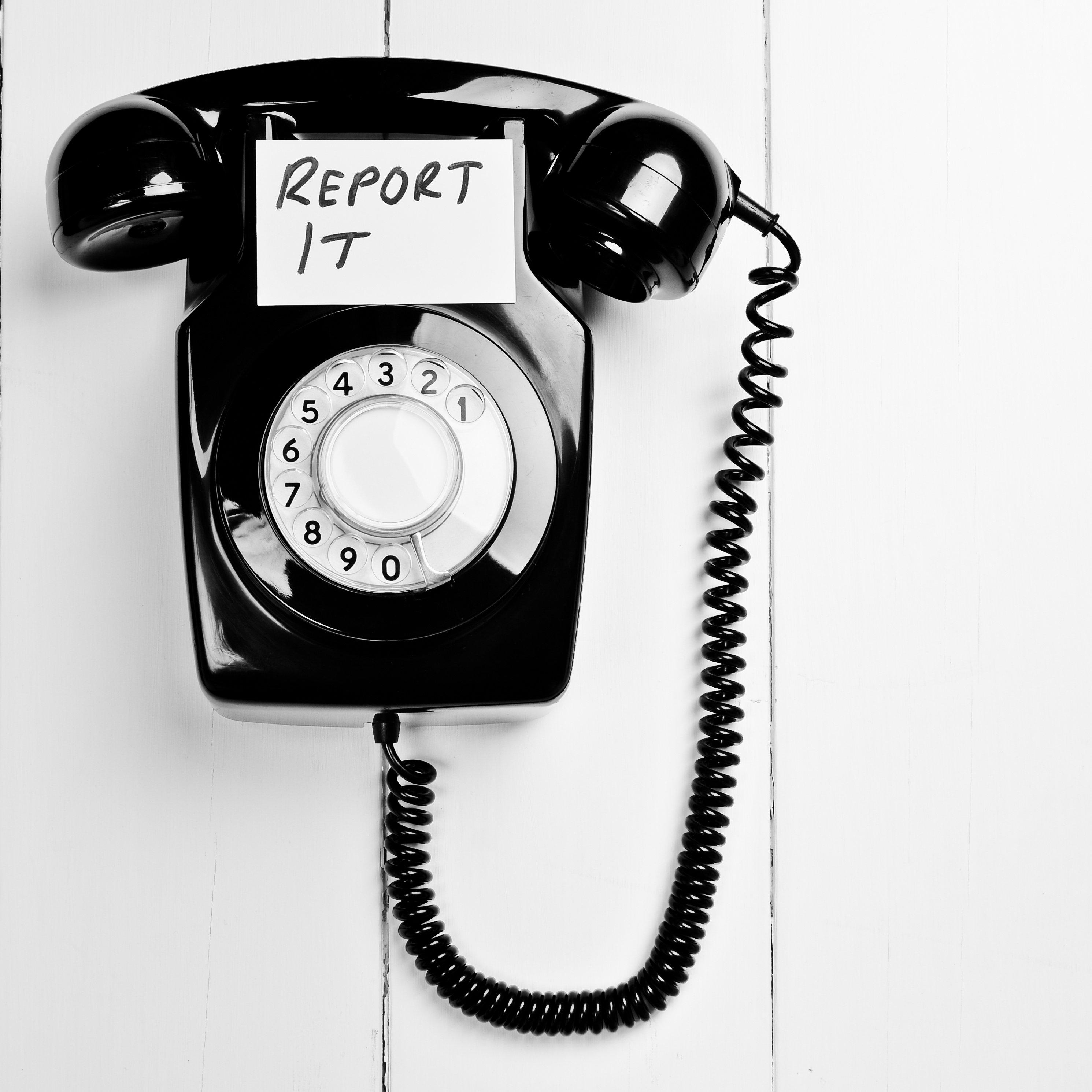 Report It Telephone